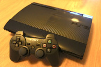 Playstation 3 super slim 500Gb, Electronics, Playstation, 2015, Gold Controller No Damaged done to The Playstation
