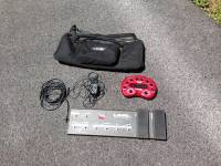 Line 6 Pod 2.0 w/long floorboard, case, adapter, and cords, For sale: Pod 2.0 Line 6 interface. Includes longboard foot controller, gigbag, power supply, and cords. Works perfectly, shows some wear, adapter ends have been reinforced by electrical tape. No issues otherwise., Like new