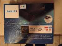 Penasinic dvd blue ray wifi smart player with hdmi cables , Electronics, Philips bdp2305, 2015, Got as gift never used