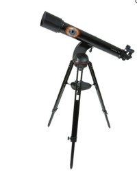 Celestron Cosmos 90GT wifi Telescope with stand, Celestron Cosmos 90GT Wifi, 2016, **BRAND NEW** The Cosmos 90 GT Wi-Fi is the first telescope in the world to be fully aligned and focused on objects in the sky using a smartphone or tablet!