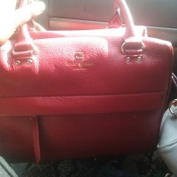 kate spade purse, Designer Wear & Handbags, Red kate spade handbag