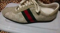 authentic woman gucci shoes size 7, Designer Wear & Handbags, Authentic baige somanta gucci shoes