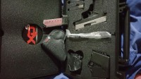 springfield XDs 3.3 .45acp, Gun, Springfield xds 45acp, 3 clips, holster, case