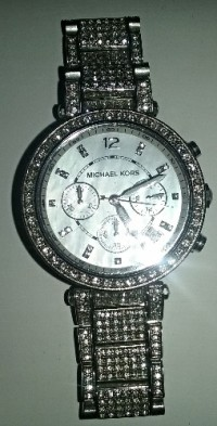 Michael Kors Womens Watch , Luxury Watch, Mk5572, Chronograph quartz, stainless steel, 38 mm