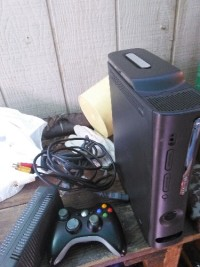 Xbox 360 with 120gb hard drive, Electronics, Microsoft, 2013, With all the wires and a controller which is wire less too and a free game