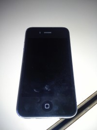 iphone 4, A1332, black, Used, worn