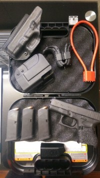 Glock 26 Gen 4, Gun, Glock 26 Gen 4, IWB and OWB, new grip