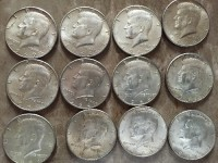 Silver dollars, Antique, Collectible, Silver dollar coin from the 60's