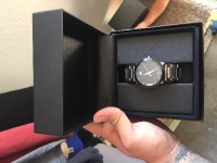 Watch , Luxury Watch, Movado watch 560049561, Like new tags an warranty papers box extra links all there..