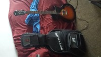 Epiphone junior model with body glove case, Musical Instruments, Equipment, Epiphone junior model guitar and a series one body glove guitar gig bag