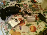 fujifilm finepix f410 digital camra, Electronics, fujifilm finepix f410, 2012, camera with inch and a half to two inch screen docking port USB cables charger in very good condition