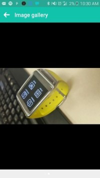 Samsung smart watch , Luxury Watch, Samsung, Model #smv700 - no charger,