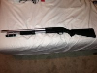 Winchester 12 gauge sdx, Gun, Winchester SDX, New cleaning kit, case