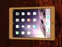 iPad Air 2 64 GB Wi-Fi, White, Space Silver, Electronics, Apple iPad Air 2 , 2015, iPad Air 2, in Like-New condition, 64 GB, White front, Space Silver back, Wi-Fi.