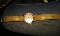 Michael kors watch, Luxury Watch, Michael kors , Leather light brown