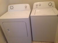 Amana Washer and Dryer, Other, Amana Washer and Dryer
