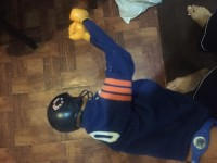 Chicago bears collectible, Antique, Collectible, Chicago bears punching doll