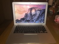 MacBook Air, Electronics, Apple MacBook Air, 2015, It is a MacBook Air (13-inch, Early 2015). With a 1.6 GHz Intel Core i5 Processor. 4 GB 1600 Mhz DDR 3 memory. Intel HD Graphics 6000 1536 MB Graphics. It is running OS X El Capitan. Very clean no marks. Used a few times.