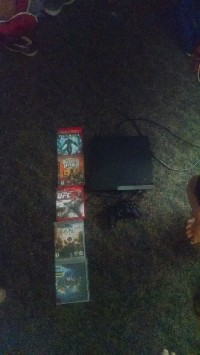 PlayStation 3, Electronics, Ps3, 2010, Works has controller games HDMI cord