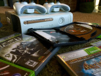 xbox 360, Electronics, Xbox 360, 2010, Xbox 360 (20gb) plus two controllers and the following games: Forza Motorsport 3, Call of Duty 4: Modern Warfare, Modern Warfare 2, Grand Theft Auto 5, Batman: Arkham Asylum, Batman: Arkham City, Fallout 3