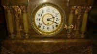 Seth Thomas Adamantine Clock, Antique, Collectible, Seth Thomas Adamantine Clock