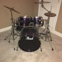 Pearl Masters 4 piece Custom Maple Drums Kit , Musical Instruments, Equipment, Pearl Masters MCX Maple 4 Pc Drum Set