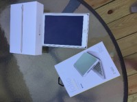 iPad mini 3 wifi 16GB Gold, Electronics, MH3G2LL/A iPad mini 3 Wi-Fi 16GB, 2015, Been used 2x's nothing ever downloaded on it. Wi-Fi 16GB. I have original box