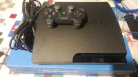 Ps3 , Electronics, Sony, Model: CECH-3001B, 2011, In perfect working condition, minor dents on both front edge, no scratches on top but a little on bottom. Comes with power cord, HDMI cord and controller charging cord.. one controller