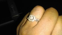 Ring serling of silver , Jewelry, 2.9g, From Kay jeweler's