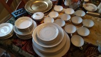 Fine china, Other, Fine china tableware larchmont 809 and international elegance  6035