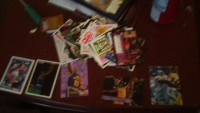 basketball and football cards , Other, have about 50 - from 1993 & 1984.