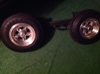Tow Truck Dollie, , Tow truck ditch Dollie with new frame and tires in excellent condition