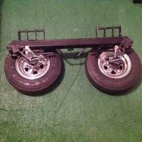 Tow Truck Dollie, Tools, Equipment, Tow truck Dollie, new tires and frame in excellent condition