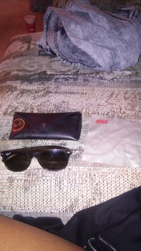 ray ban sunglasses , Designer Wear & Handbags, Ray ban sunglasses wit case