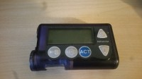 Medtronic minimed insulin pump, Other, Purple Minimed Medtronic Insulin Pump. Paradigm 512 Insulin Pump.