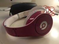 Studio Beats Headphones, Electronics, Beats by Dr. Dre, 2013, Hot Pink Studio Beats by Dr. Dre. All cables and case included with headphones. Working condition.
