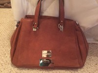 Jimmy choo brown small tote purse , Designer Wear & Handbags, Jimmy choo purse! Never worn, bought it and then my parents bought another one so I never got to use it and now want to sell it