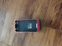 Mopie portable iPhone battery case/charger_red, Electronics, Mopie, 2014, Portable battery case/charger