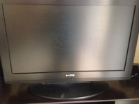 Sanyo Television, Black, 28 inches, model number DP26649, Like new