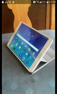 "Samsung Tab S2 8"" 32gb, Electronics, Samsung, 2O15, Samsung Tab S2, white, 8"" 32gb. Comes with gold Samsung smart case."