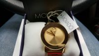 Watch, Luxury Watch, Movado gold woman watch gold