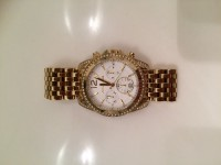 Michael Kors watch , Luxury Watch, Michael Kors , good condition, hardly worn, gold/shiny, clock works great, come with box and links