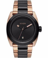 Nixon primitive kingpin watch, Luxury Watch, Nixon, It has a black and rose gold wrist band perfect conditon