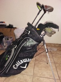 callaway golf clubs, Tools, Equipment, Call away golf clubs and bag