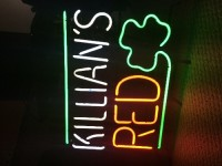 Killian's Irish Red Beer Sign, Other, Collectible neon beer sign