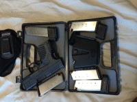 Springfield XDS .45, Gun, Springfield XDS .45, 5 magazines in 3 capacities (5-7)