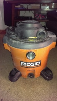 Shop vaccum, Tools, Equipment, Ridgid shop vaccum in excellent condition