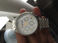 Watch, Jewelry, Michael kors, Watch silver and gold new no glass scrathes