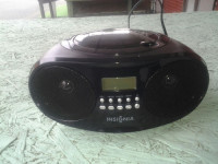 Boom Box, Electronics, Insignia, not sure, Cd Boom Box compact disc player with Am/Fm Radio