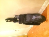 golf clubs, Tools, Equipment, Ping steel golf club full set with bag and new balls